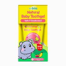 Tiny buds natural baby toothgel strawberry banana