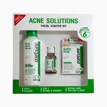 Oxecure acne solutions facial starter kit