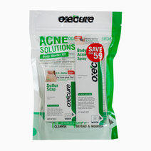Oxecure acne solutions body starter kit fop