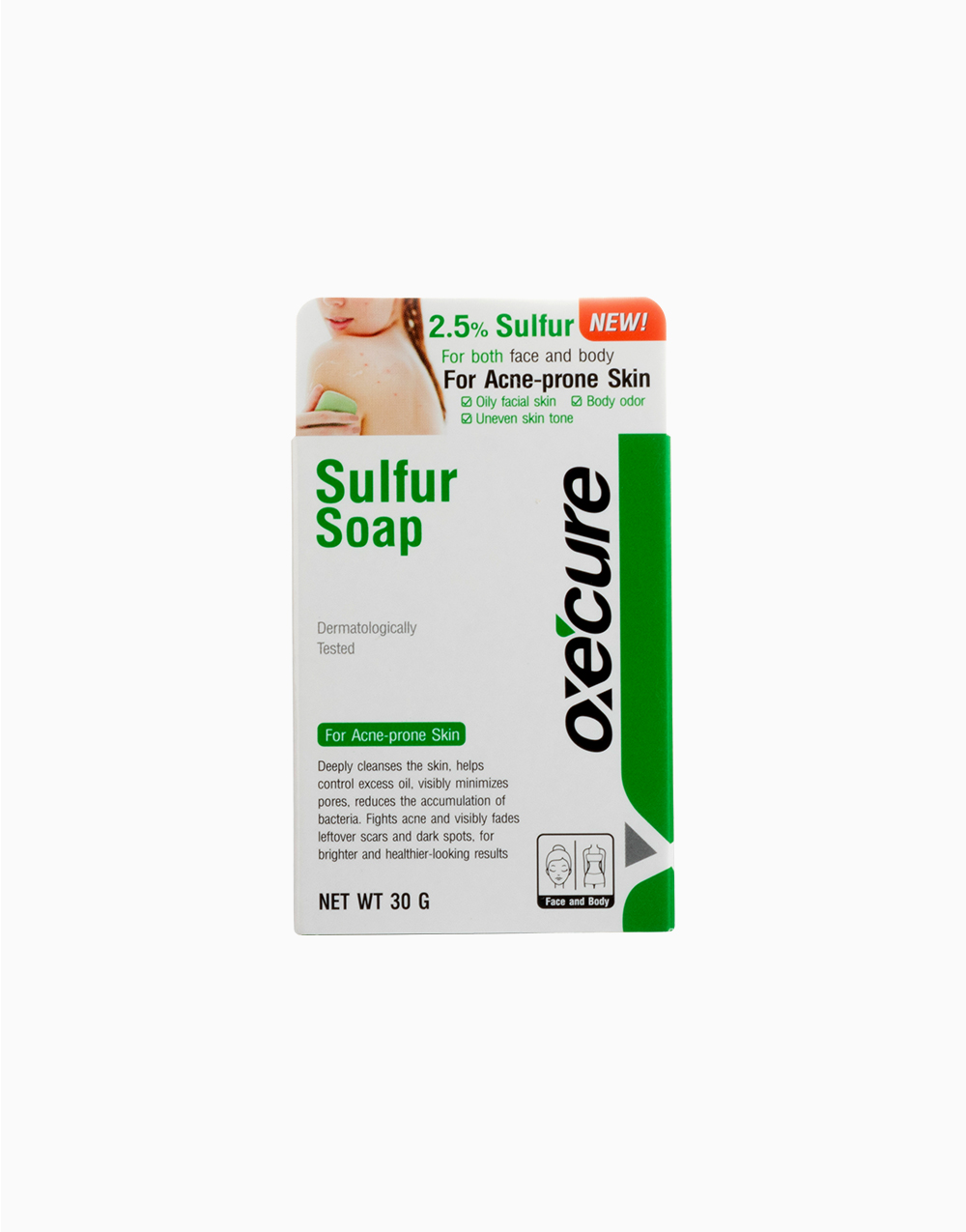 Sulfur Soap 30g by Oxecure