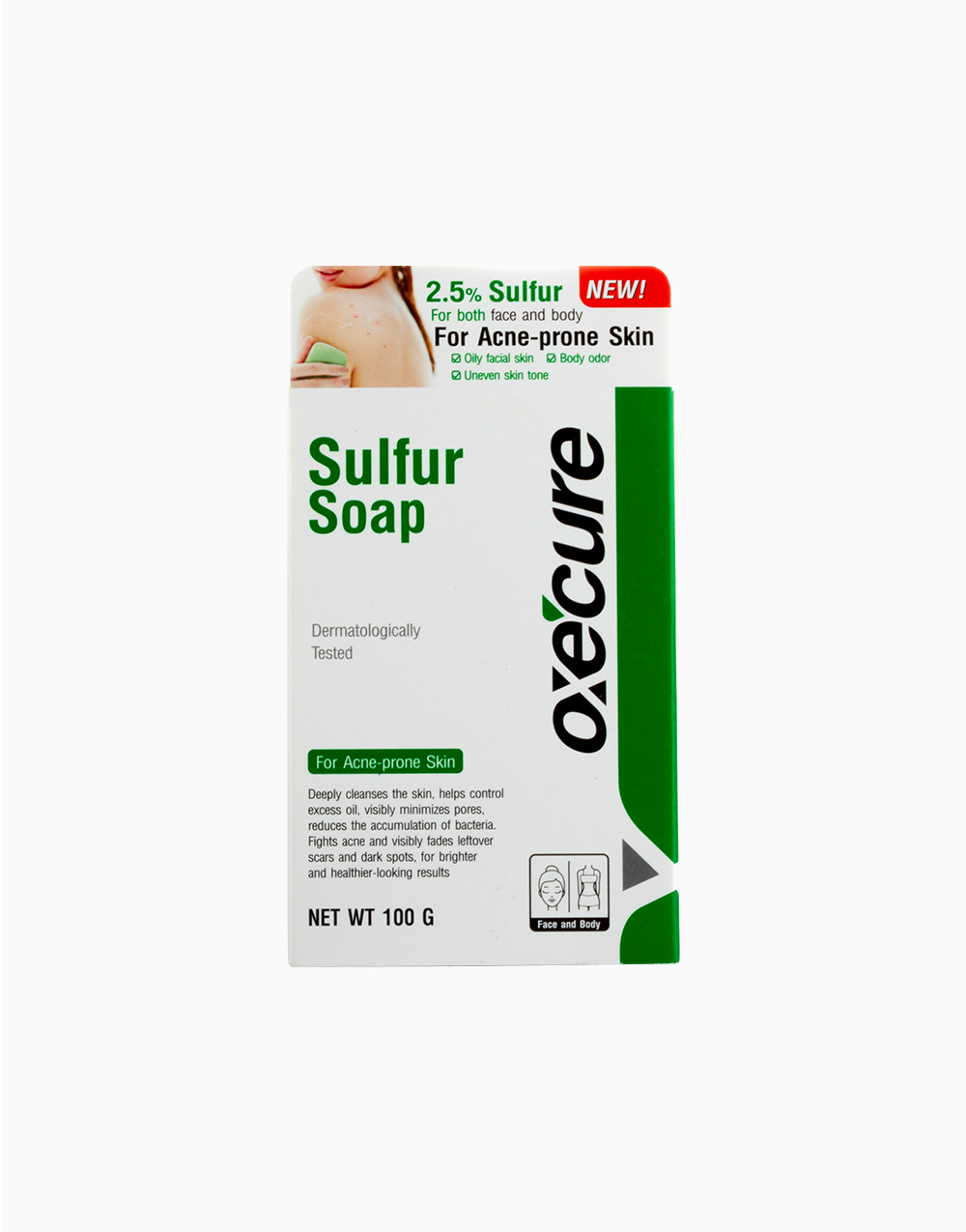 Sulfur Soap 100g by Oxecure