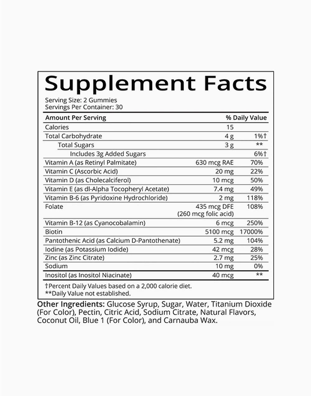 SugarBearHair Hair Vitamins (2-Month Supply Bundle) by SugarBearHair