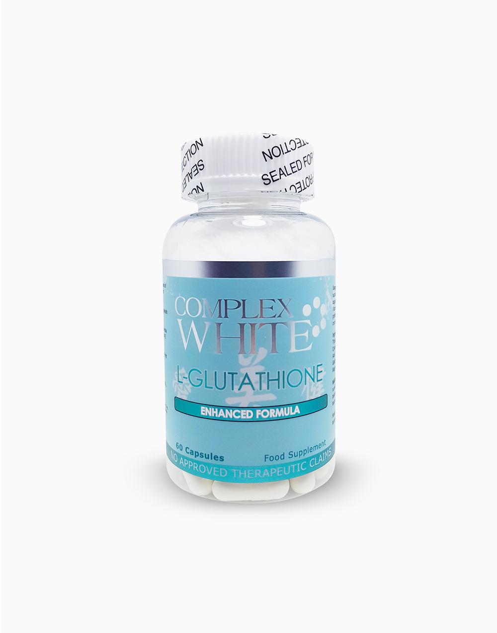 L-Glutathione Capsules (60 capsules) by Complex White