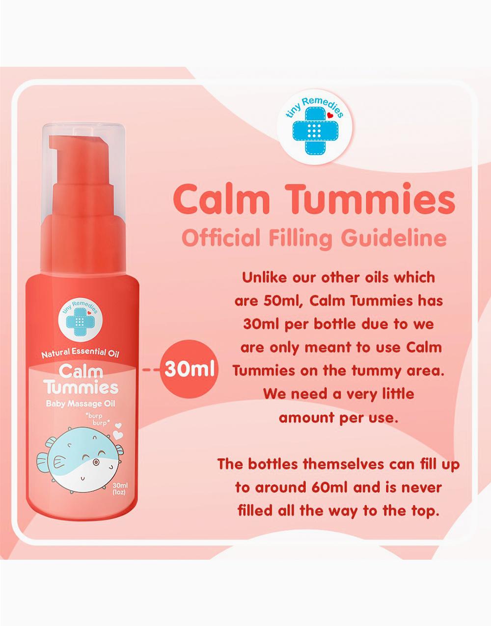 Calm Tummies Anti-Colic Massage Oil (30ml) by Tiny Buds
