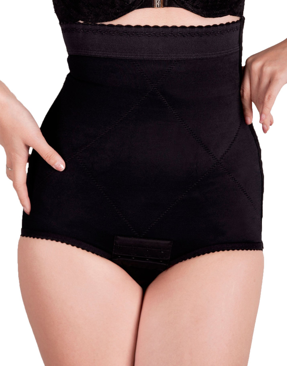 Postpartum Ultra Bikini in Black by Wink Shapewear | XXS