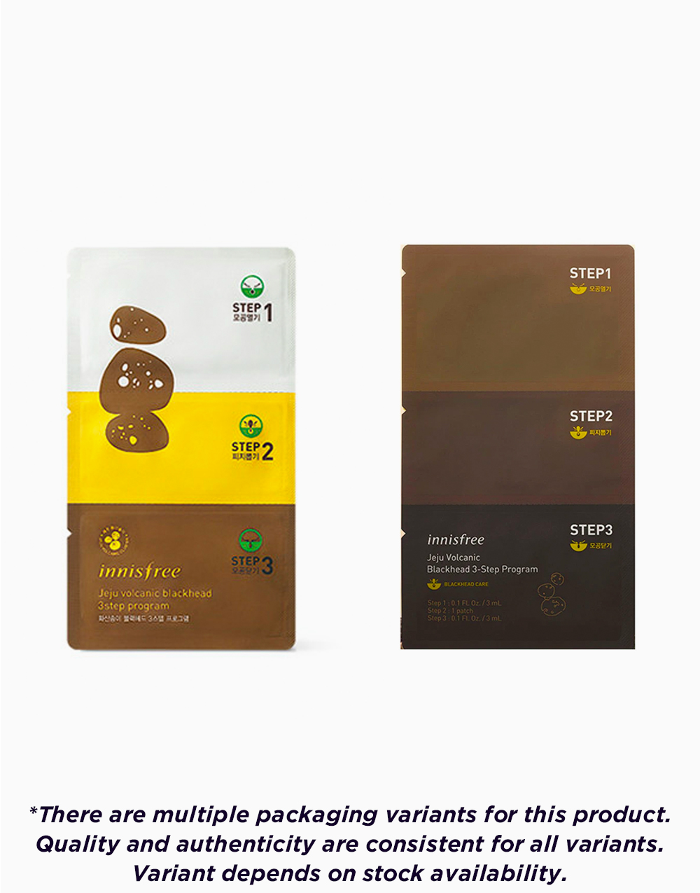 Jeju Volcanic Blackhead 3 Step Program (1ea) by Innisfree