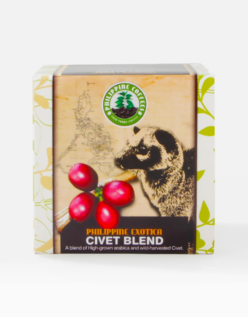 Philippine Civet Blend Coffee (100g) by ECHOstore