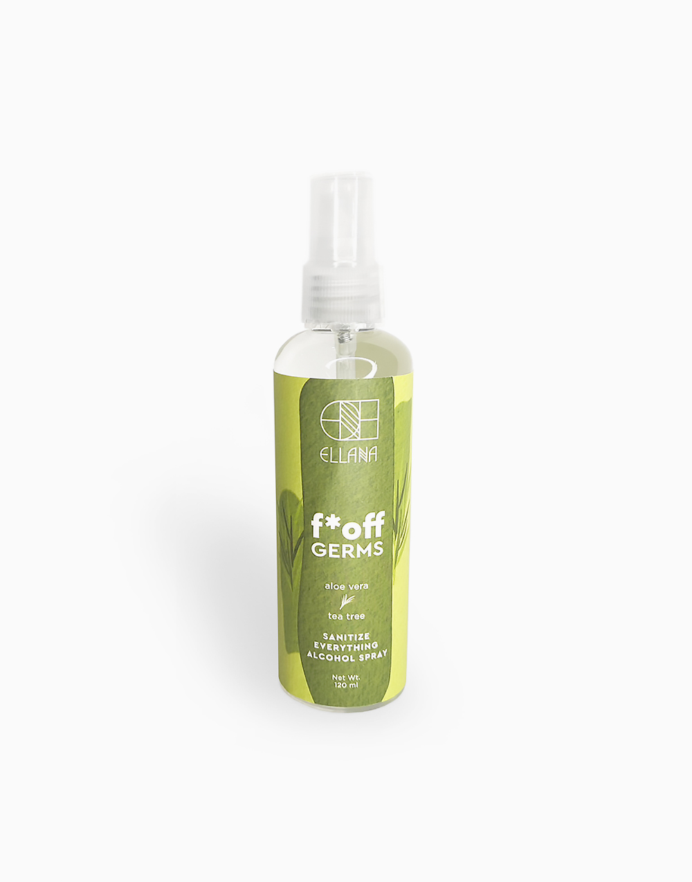 F*Off Germs Sanitize Everything Alcohol Spray by Ellana Mineral Cosmetics