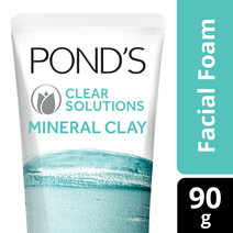 Mineral Clay Facial Foam Clear Solutions by Pond's