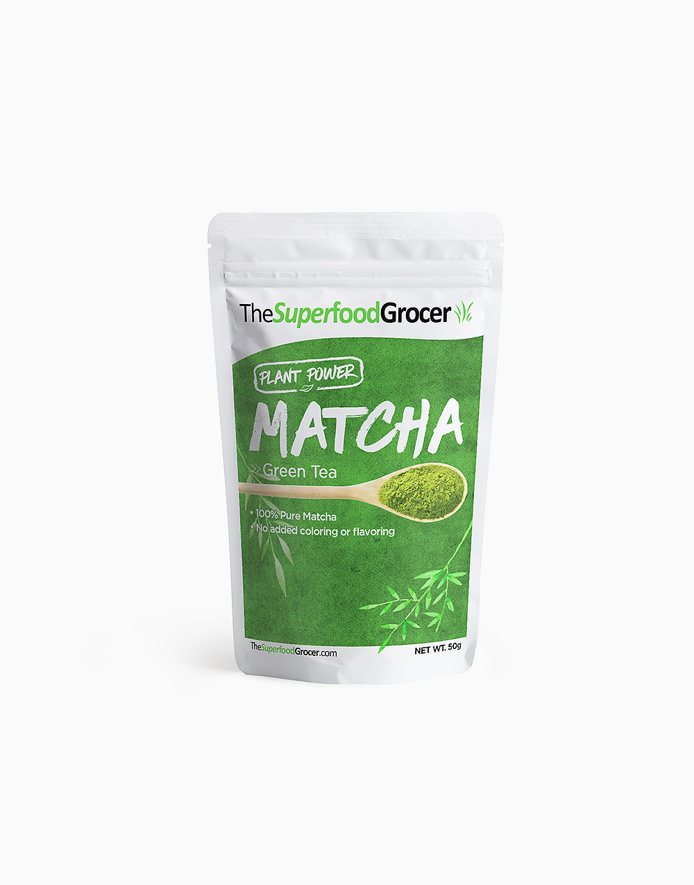 Matcha Green Tea Powder (50g) by The Superfood Grocer