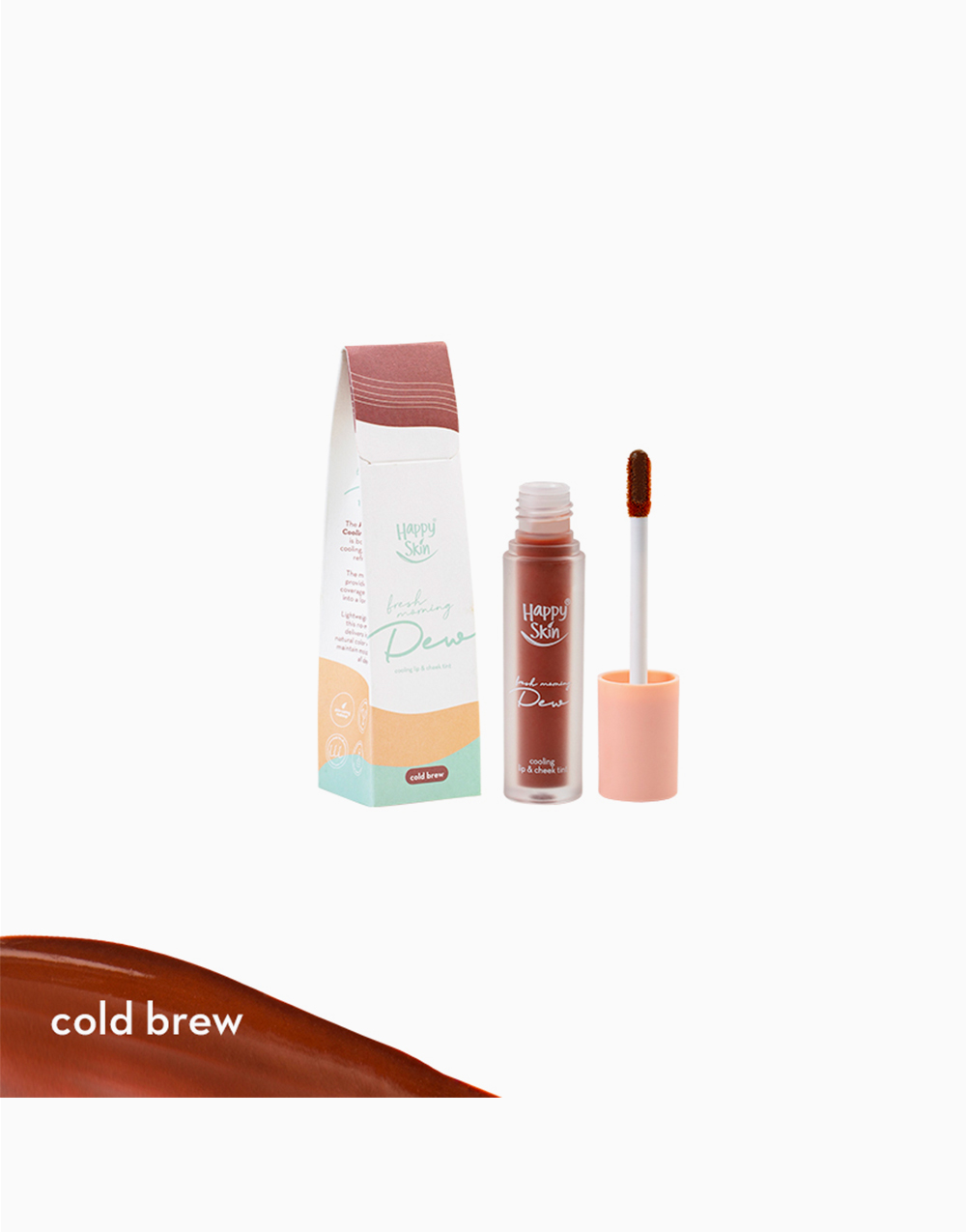 Cooling Lip & Cheek Tint by Happy Skin | Cold Brew