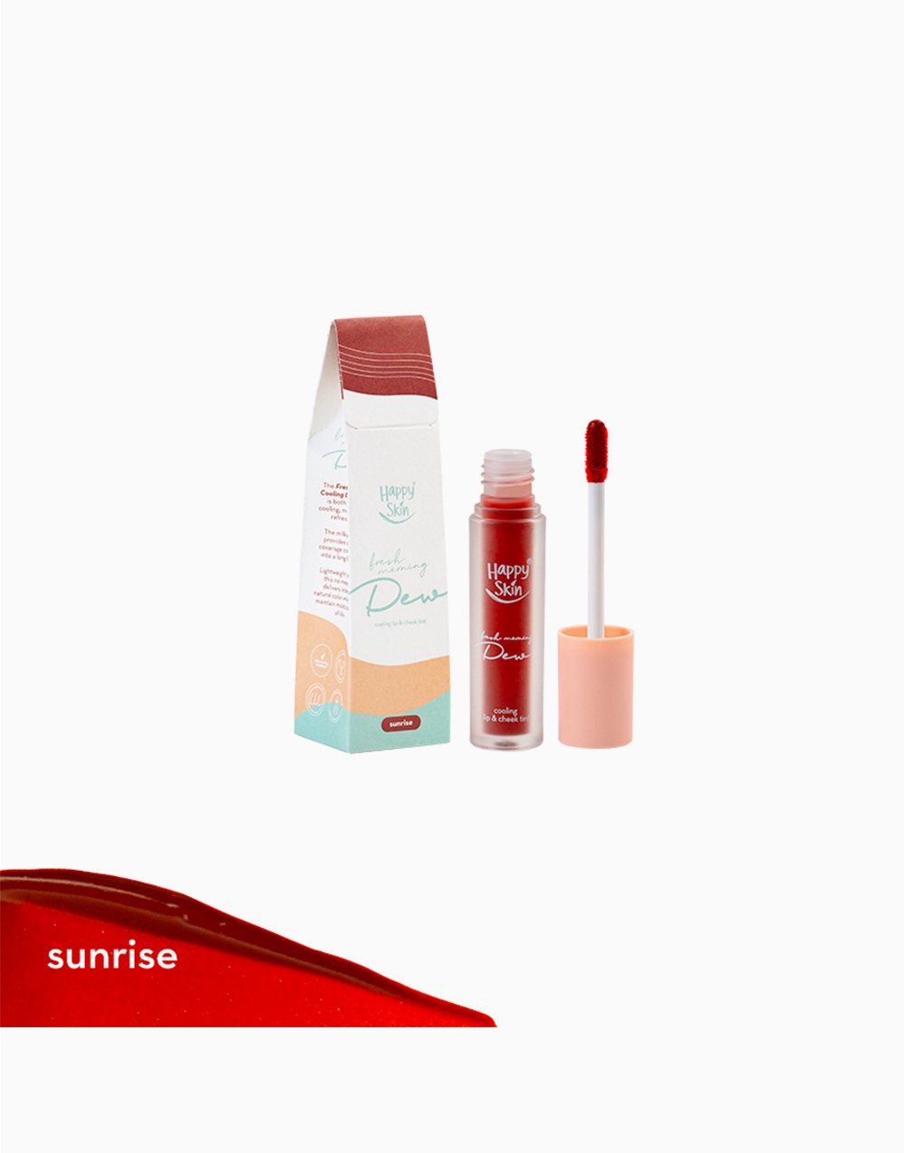 Cooling Lip & Cheek Tint by Happy Skin | Sunrise