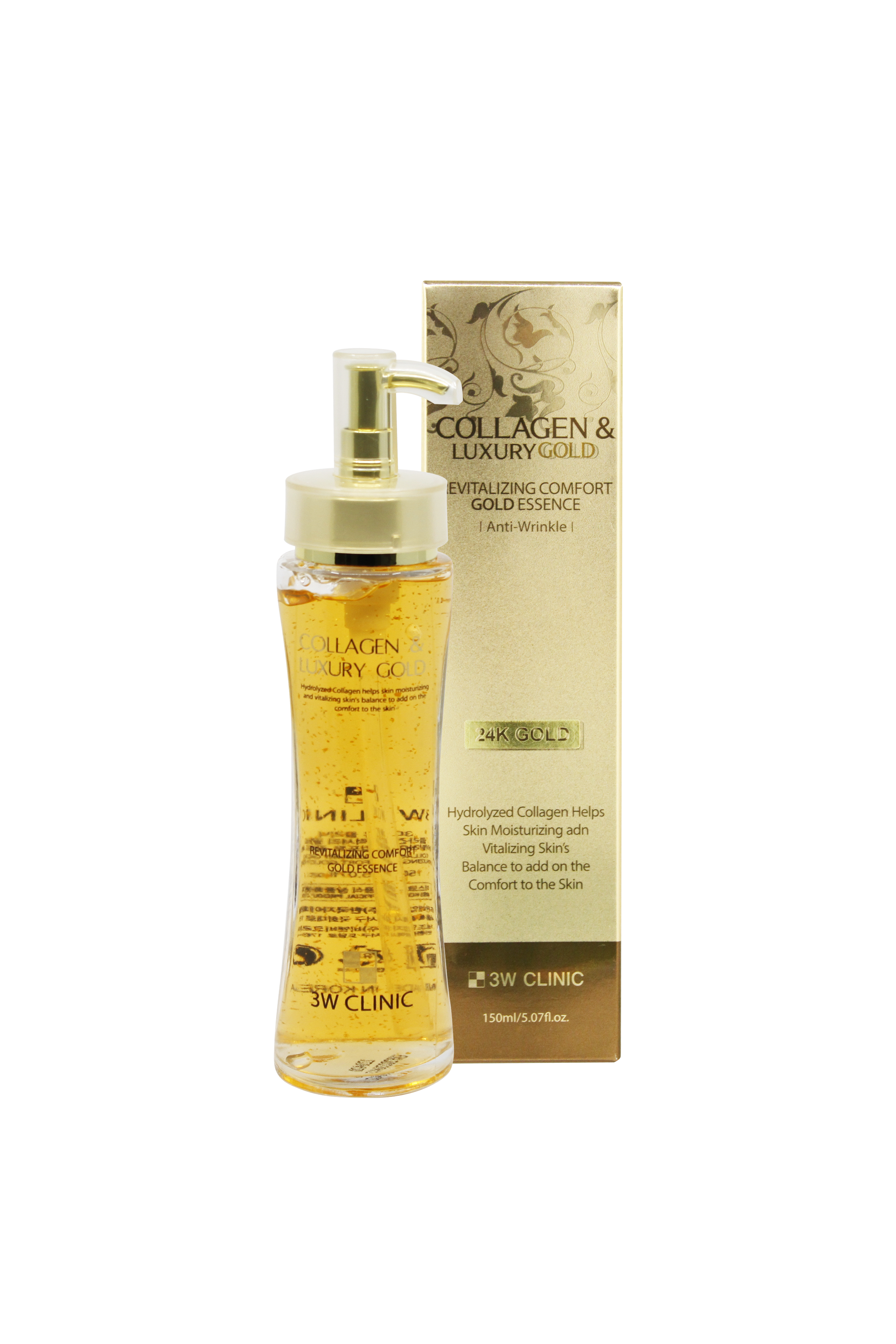 Collagen and Luxury Gold Essence by 3W Clinic
