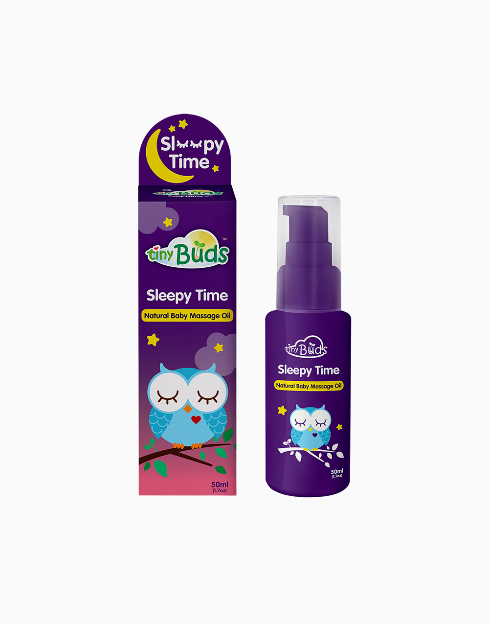 Sleepy Time Baby Massage Oil (50ml) by Tiny Buds