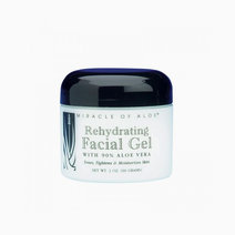 Rehydrating facial gel with 90  ultraaloe