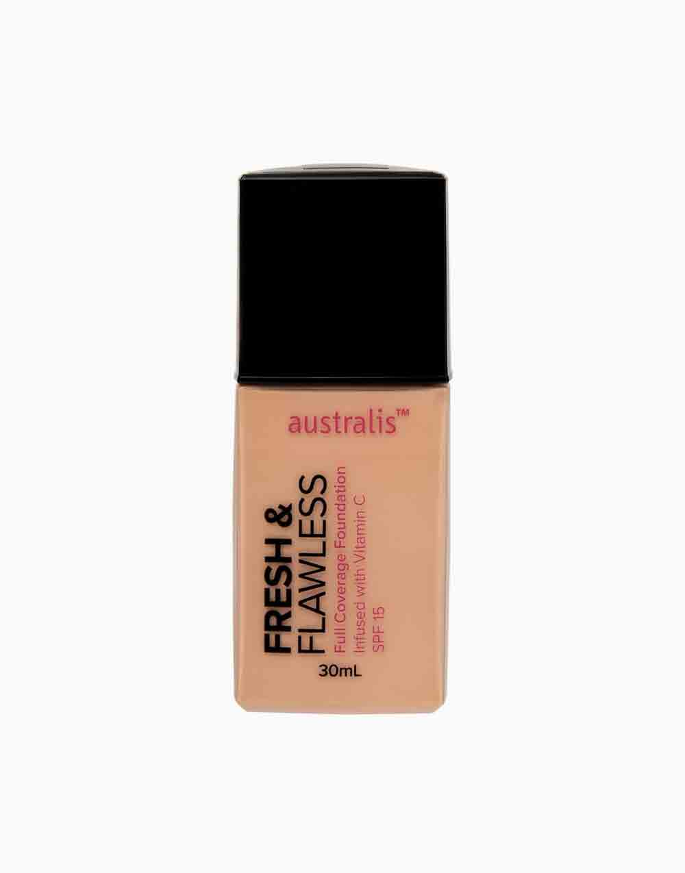 Fresh & Flawless Full Coverage Foundation by Australis   Light Beige