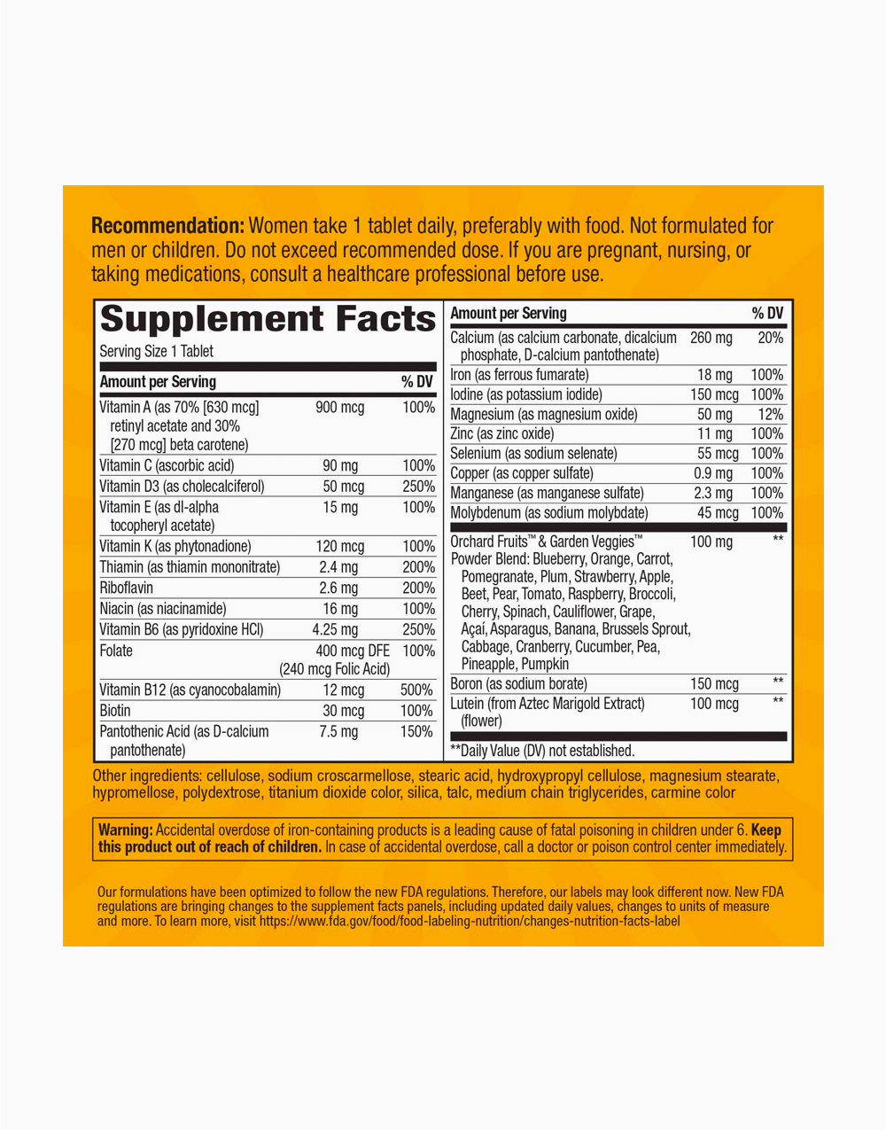 Alive! Women's Energy Multivitamin-Multimineral (50 Tablets) by Nature's Way