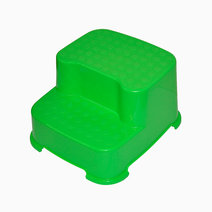 Babyhood 2 step stool green %284%29