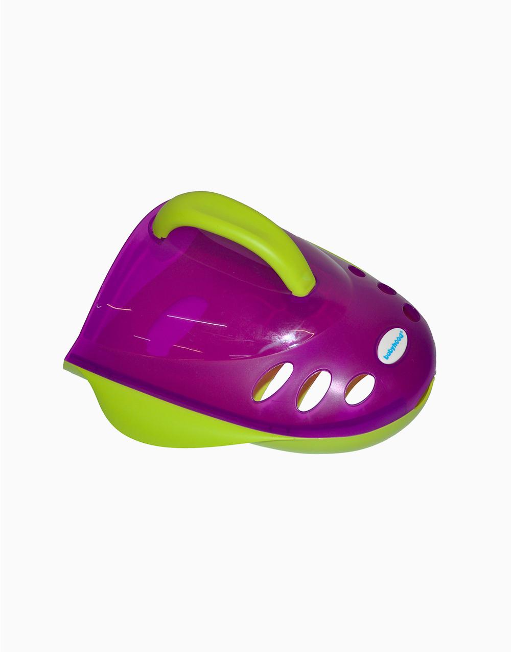 Bath Toy Holder by Babyhood | Green & Violet