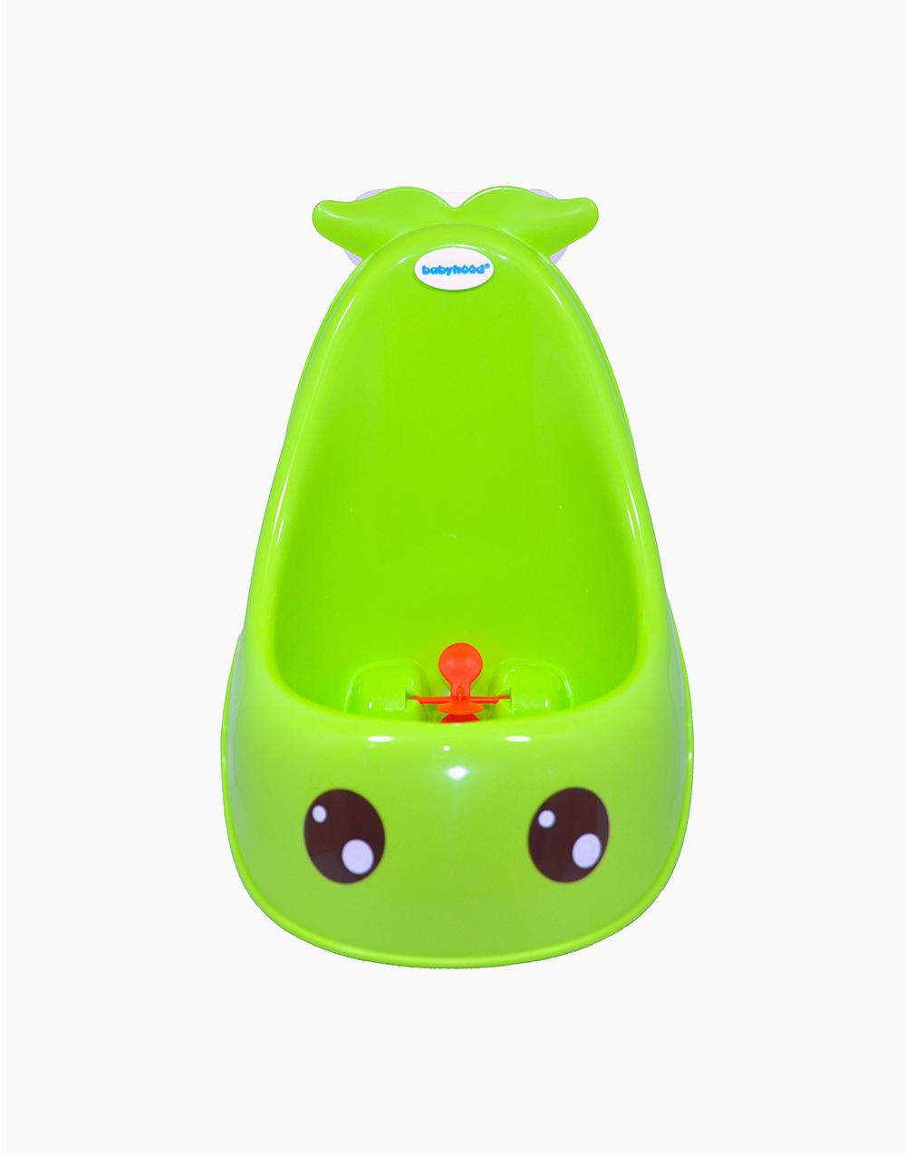 Whale Urinal by Babyhood | Green