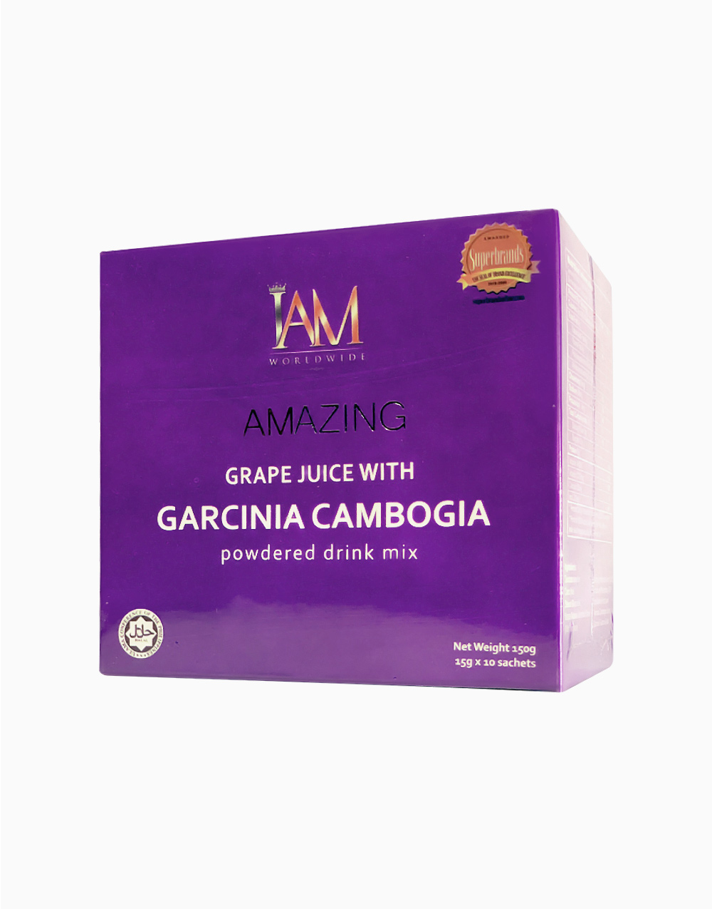 Amazing grape juice with garcinia cambogia %2810 sachets  3g%29 np