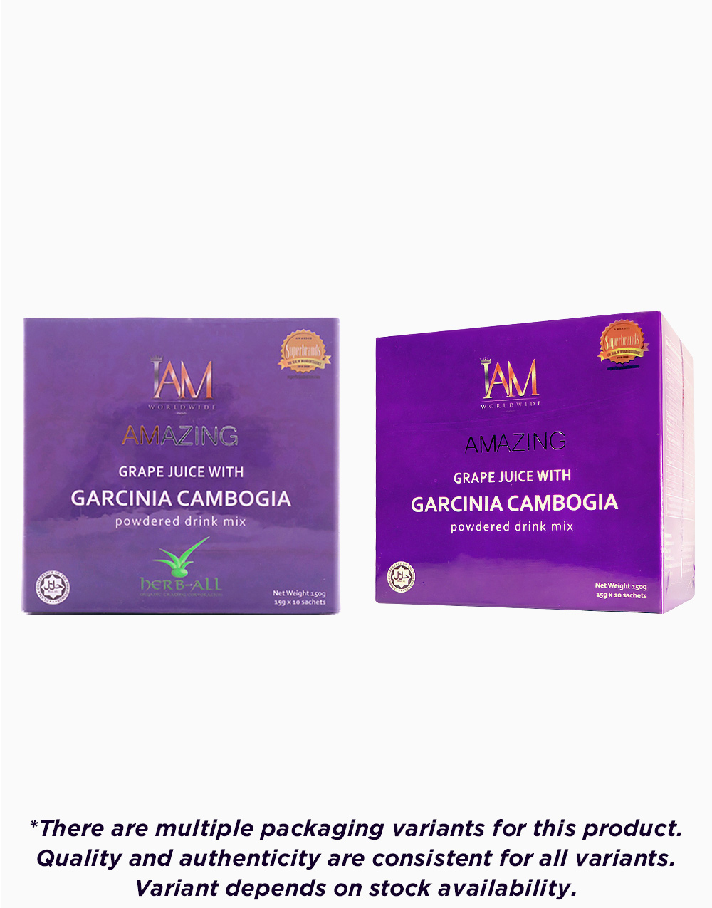 Amazing grape juice with garcinia cambogia %2810 sachets  3g%29 mpv