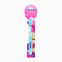 Sansfluo kids toothbrush blue