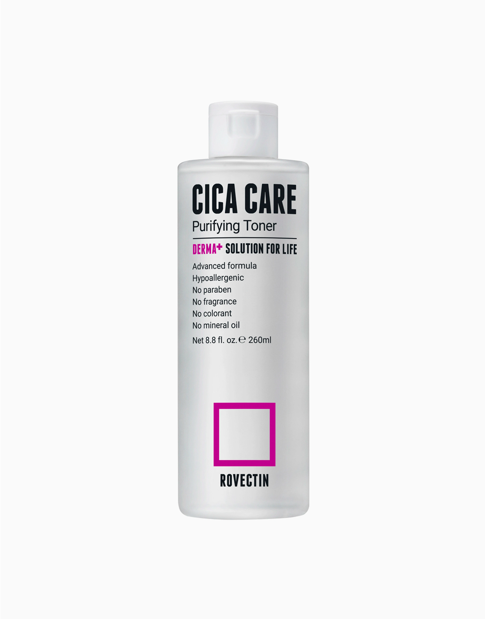 Skin Essentials Cica Care Purifying Toner by Rovectin