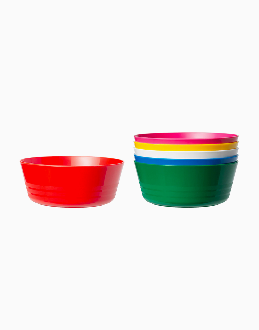 KALAS Bowl Multicolor (6 Pack) by Ikea
