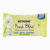 Betadine bfb tea garden wipes