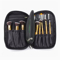 Pro studio makeup brush and cosmetic case 2