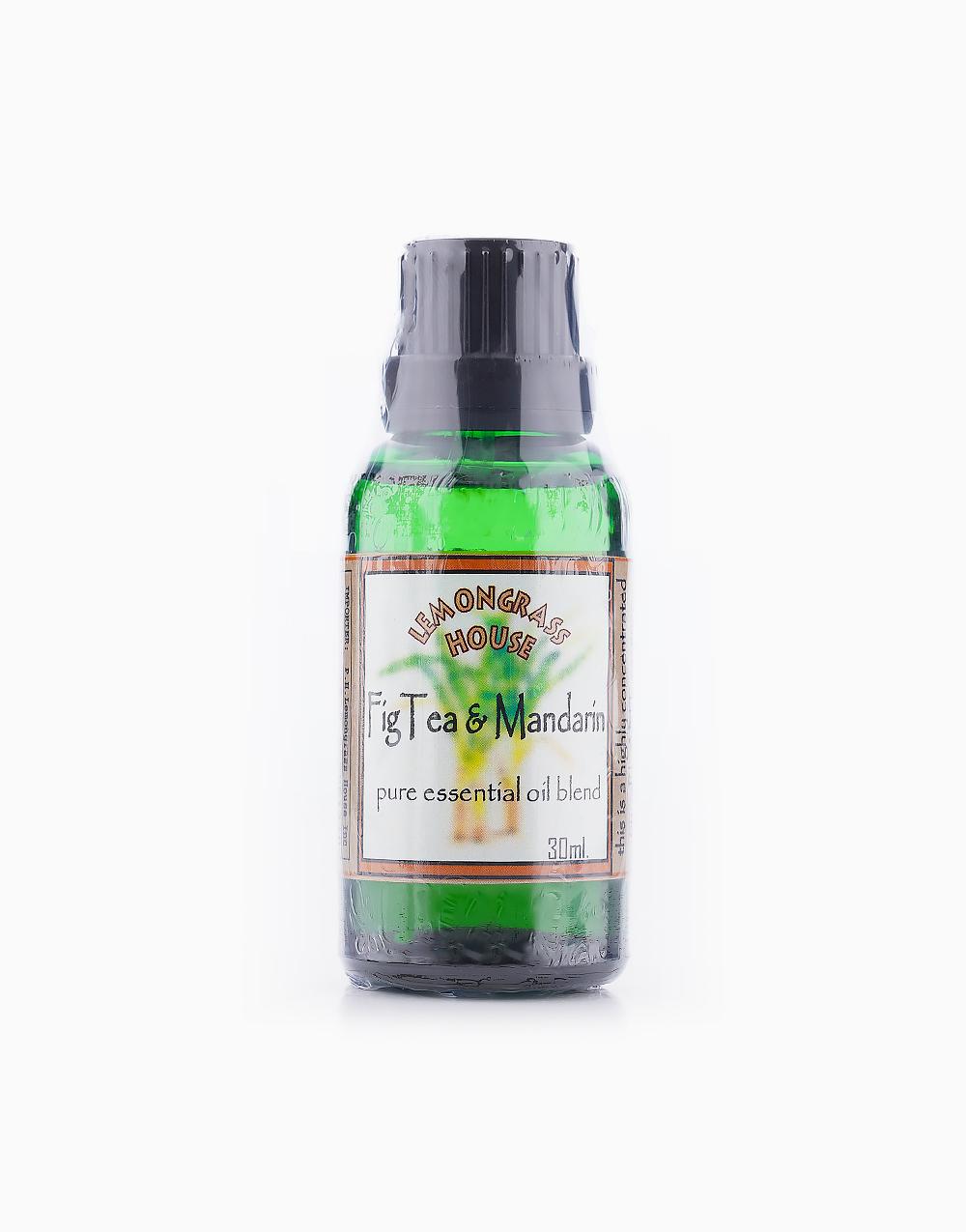 Fig Tea & Mandarin Essential Oil (30ml) by Lemongrass House
