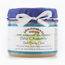 Blue Chamomile Salt Body Glow (200g) by Lemongrass House