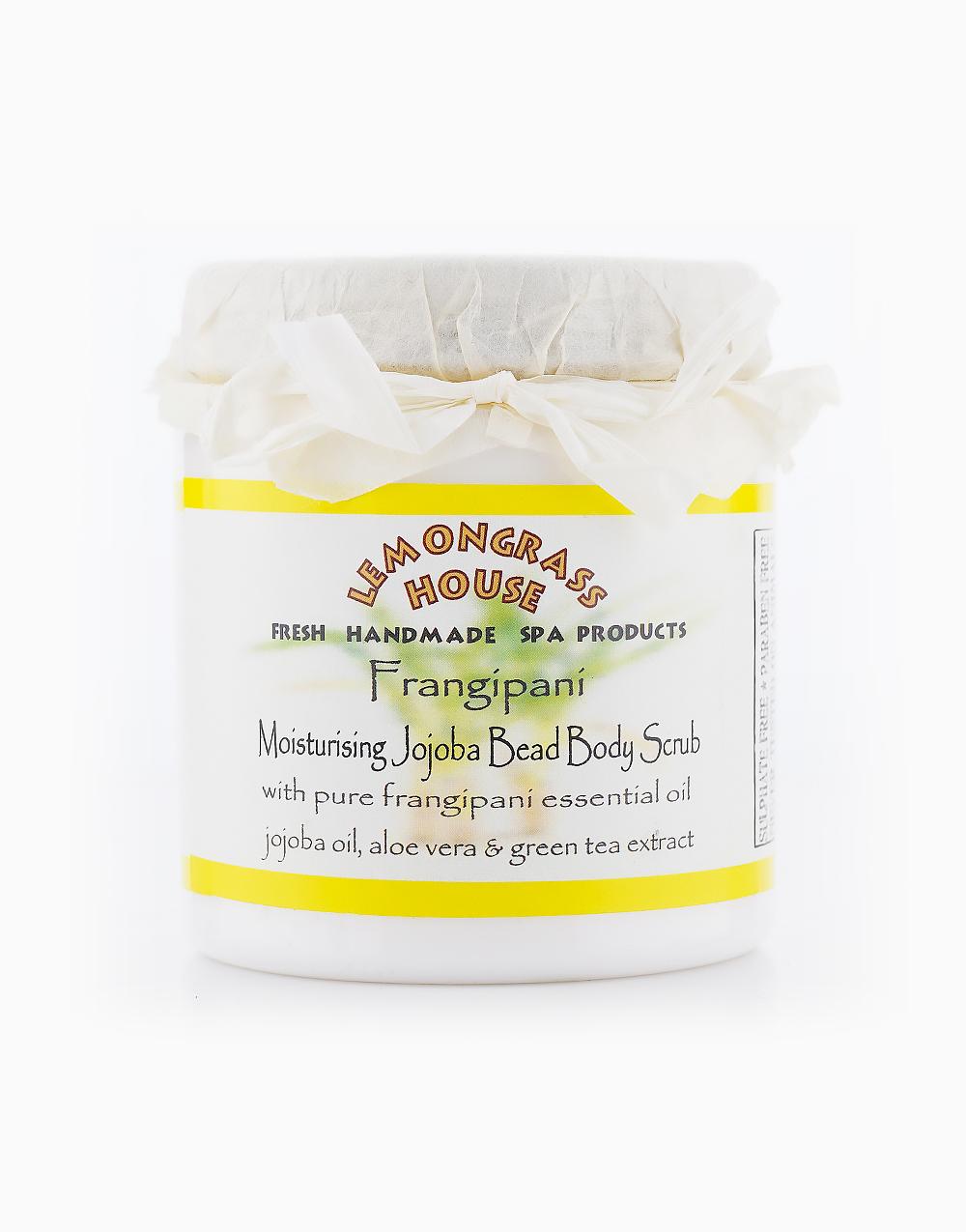 Frangipani Moisturising Jojoba Bead Body Scrub (300g) by Lemongrass House