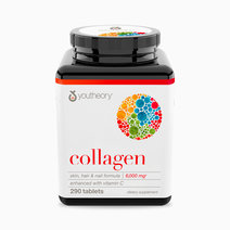 Youtheory collagen  skin  hair   nail formula 6 000mg %28290 tablets%29