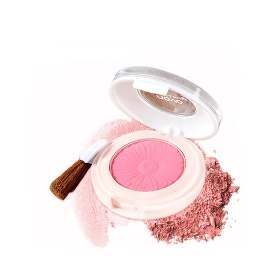 Temptation Baked Blush by Novo Cosmetics | #5 Rosey Pink
