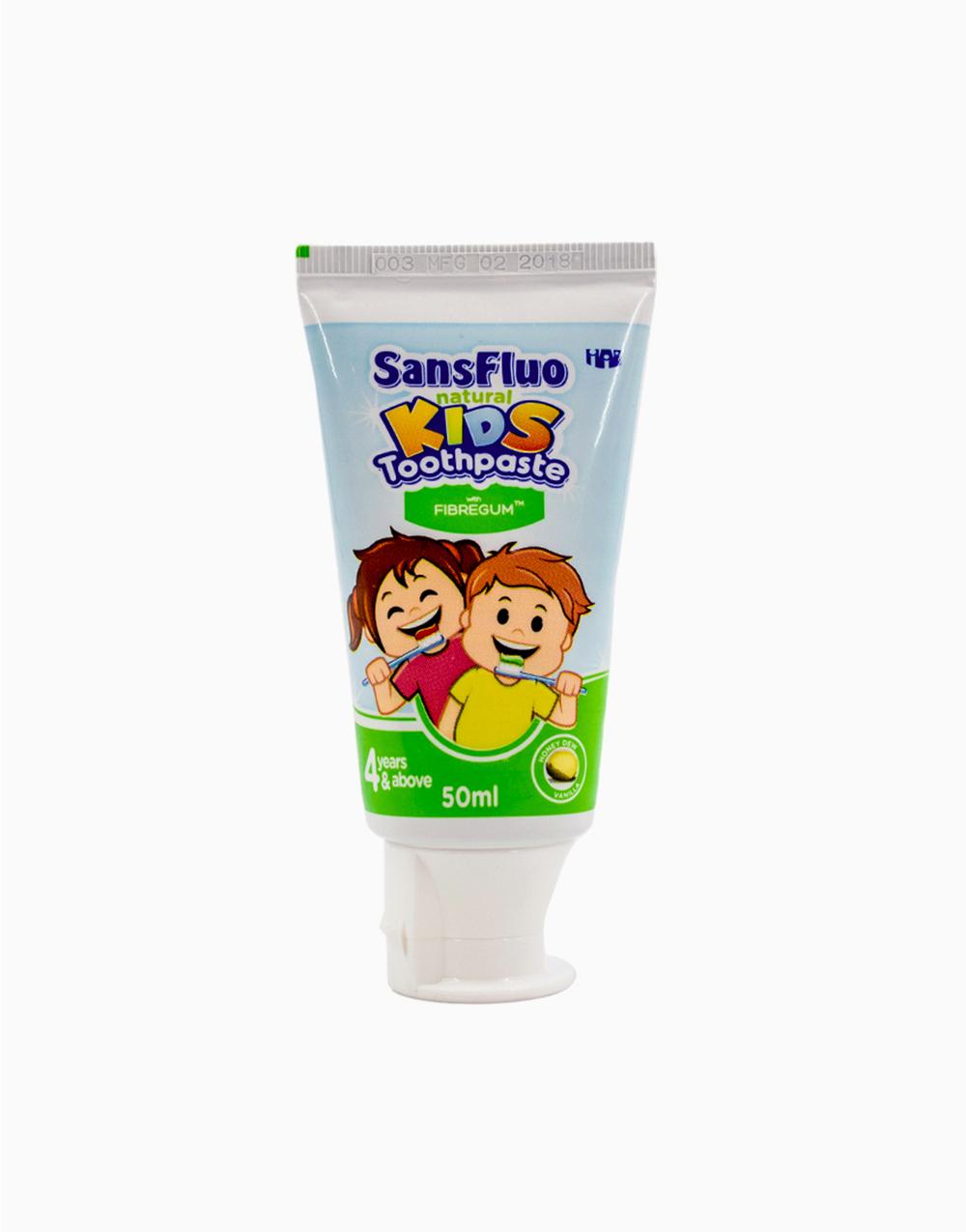 SansFluo Natural Kids Toothpaste (50ml) by Sansfluo | Honey Dew Vanilla