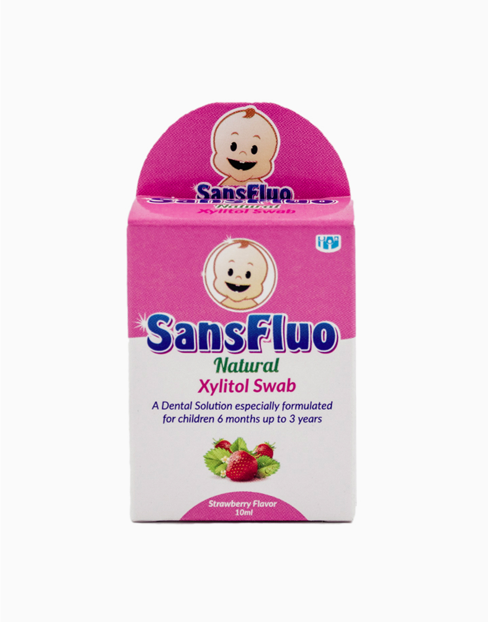 SansFluo Natural Xylitol Swab (10ml) by Sansfluo