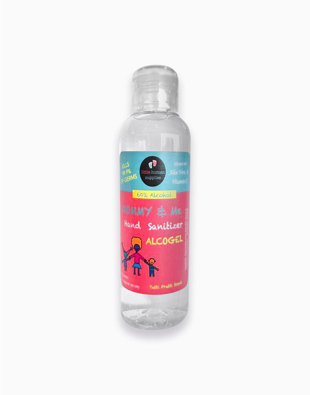 Alcogel Hand Sanitizer with Aloe Vera & Vitamin E (100ml) by Little Human Supplies