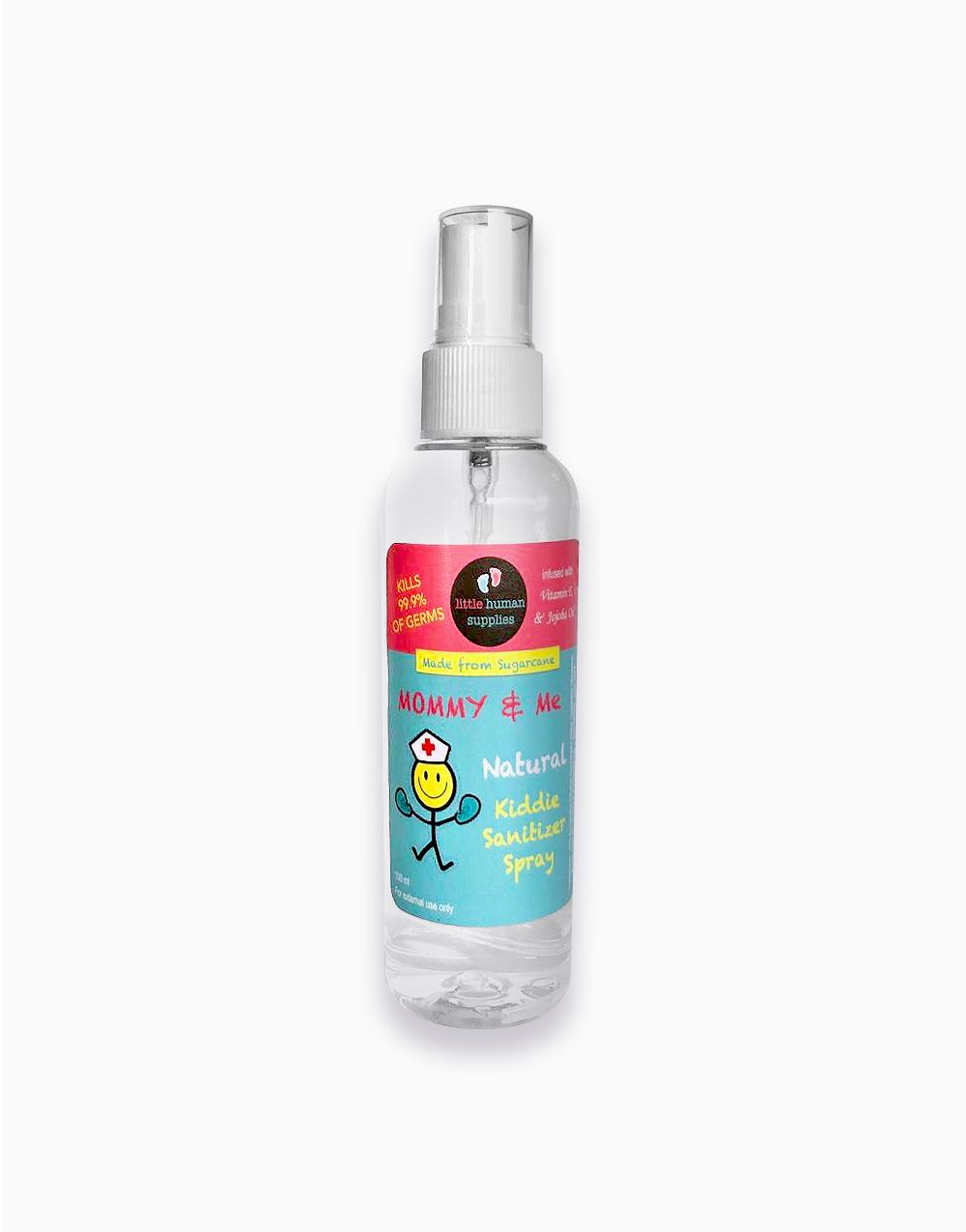 Natural Kiddie Sanitizer Spray with Vitamin E & Jojoba (100 ml) by Little Human Supplies
