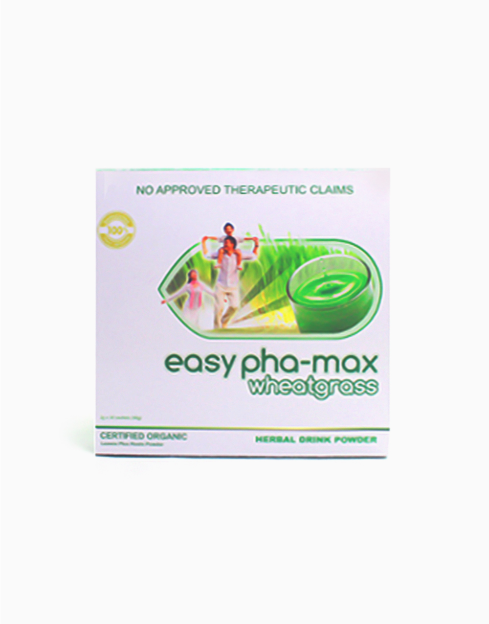Wheatgrass Herbal Drink (30 Sachets) by Easy Pha-max