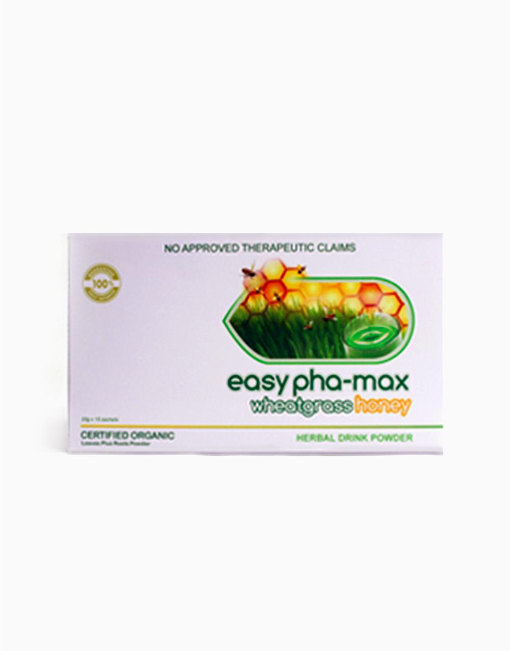 Wheatgrass Honey Herbal Drink (15 sachets) by Easy Pha-max