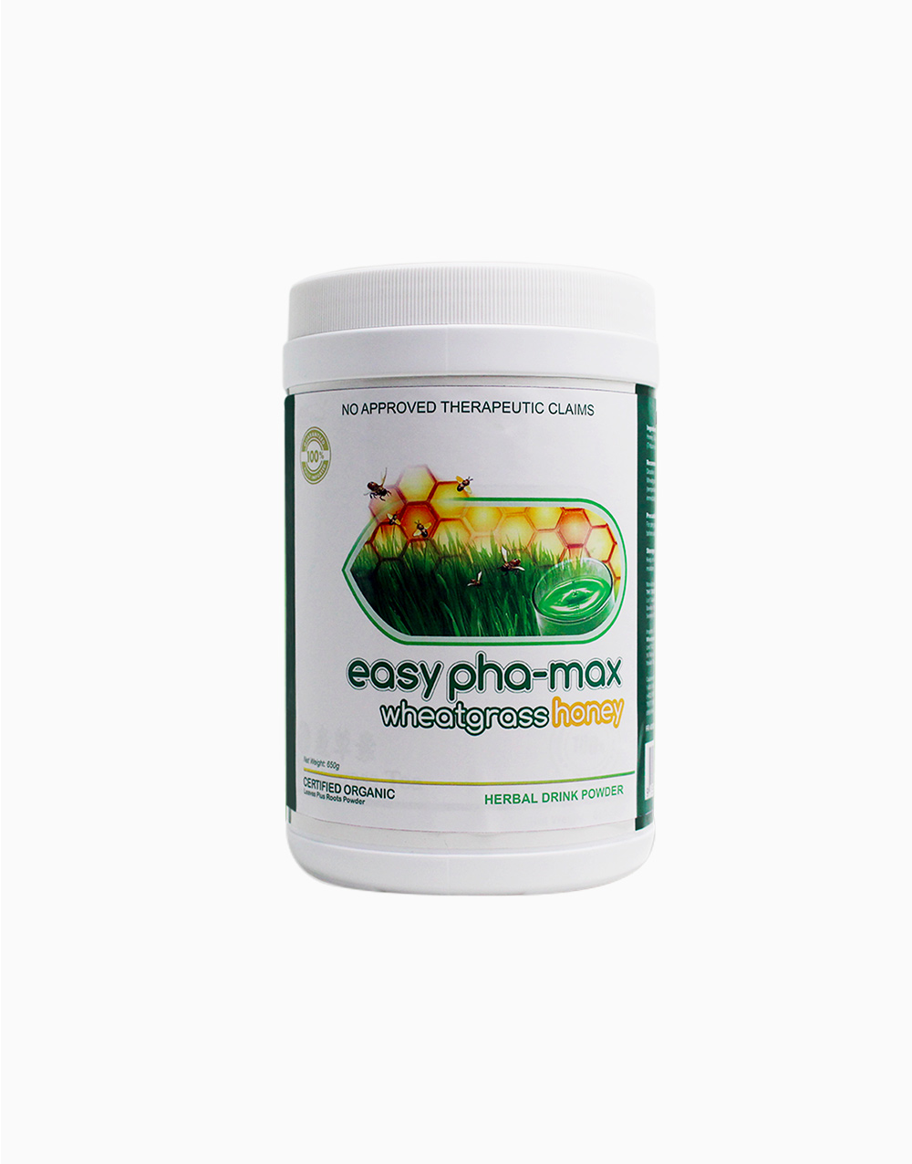 Wheatgrass Honey Canister (650g) by Easy Pha-max