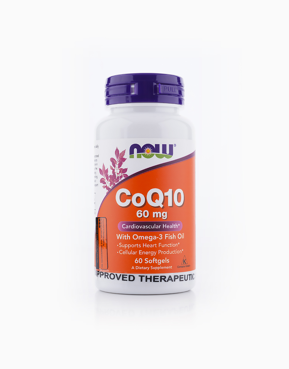CoQ10 (60mg, 60 Softgels) by NOW