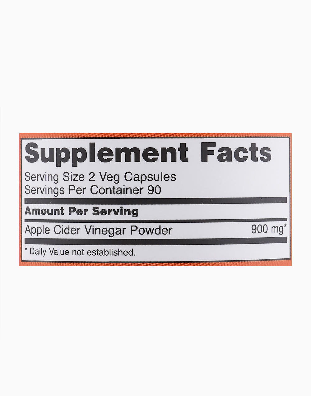 Apple Cider Vinegar 450mg (180 Capsules) by NOW