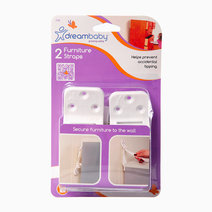 Dreambaby f199 furniture wall straps 2 pack