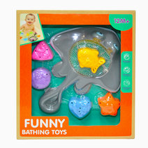 Bath fun fishing shapes bath toy