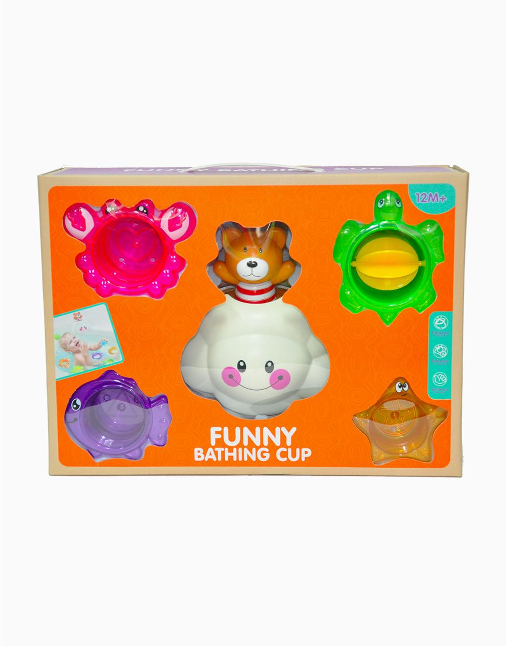 Funny Bathing Cup Bath Toys (6628) by BathFun