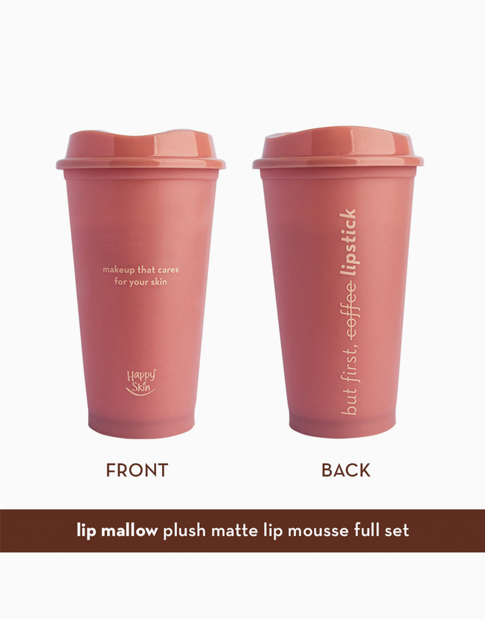 Mallow Mousse Coffee Edition Full Tumbler Set by Happy Skin