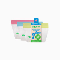 Colored Reusable Stand-up Bags (Small) by Zippies